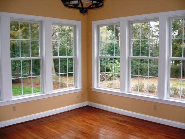 Windows & Hardwood Flooring